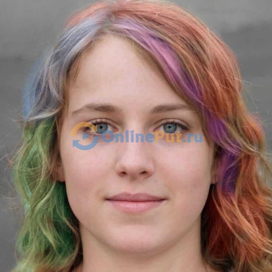 Результат изменения оттенка по фото в сервисе редактор онлайн